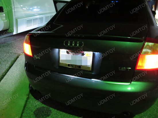Audi - A4 - LED - License - Plate - Lights - 2